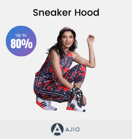 Ajio offers on Women Footware - Sneaker Hood | Up To 80% OFF | Shop Now.