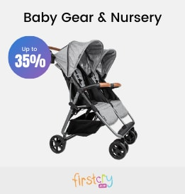 Firstcry offers on Kids - Baby Gear & Nursery | Flat 35% OFF | Shop Now.