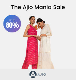 Ajio offers on Women Clothing - The Ajio Mania Sale | Get Up To 50 - 90% OFF | Shop Now.