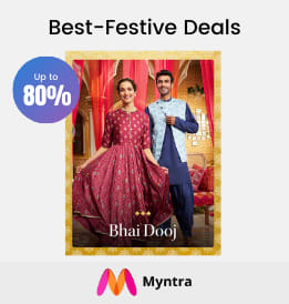 Myntra offers on Men Clothing - Best-Festive Deals | Up To 50 - 80% OFF | Shop Now.