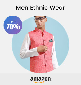 Amazon offers on Men Clothing - Men Ethnic Wear | Men s Clothing | Fashion | Up To 70% OFF | Shop Now.