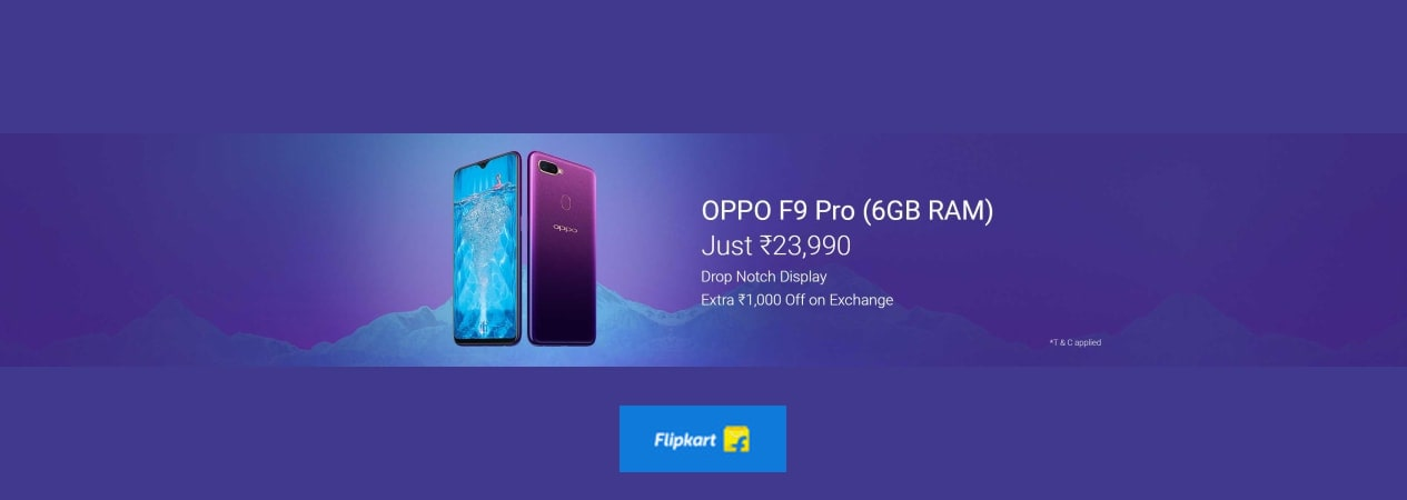 Oppo F9 Pro - Buy Oppo F9 Pro Online at Low Prices In India | Flipkart.com