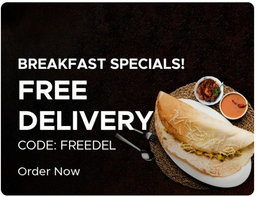 BreakFast Specials Free Delivery