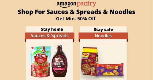 Amazon Pantry | Shop For Sauces, Spreads & Noodles