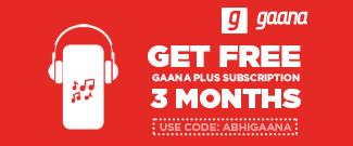 Get FREE 3 Months Gaana Plus Subscription