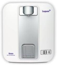 Livpure LIV-LINEA 5 L RO + UV + Mineraliser Water Purifier White, Silver