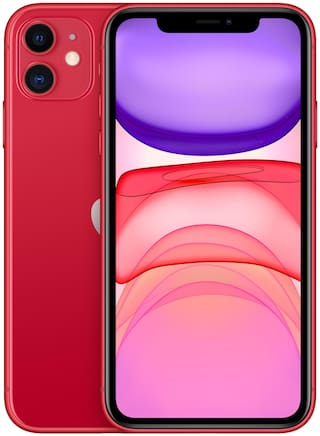 Paytmmall offers on Mobiles - Apple iPhone 11 128 GB Red(Includes Earphone & Adapter)