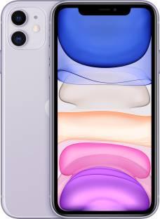 Flipkart offers on Mobiles - Apple iPhone 11 (Purple, 64 GB) (Includes EarPods, Power Adapter)