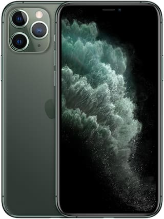 Paytmmall offers on Mobiles - Apple IPhone 11 Pro Max 64 GB Midnight Green(Includes Earphone & Adapter)