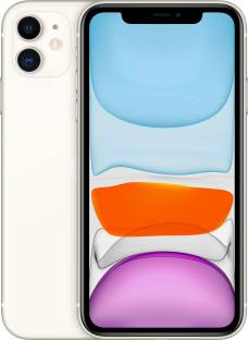 Flipkart offers on Mobiles - Apple iPhone 11 (White, 64 GB) (Includes EarPods, Power Adapter)