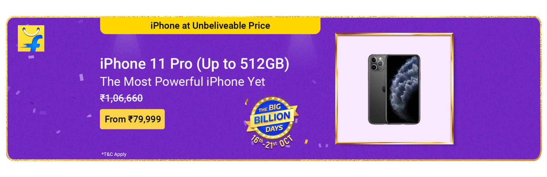 Flipkart Big Billion Days ??? Apple-iPhone-11Pro
