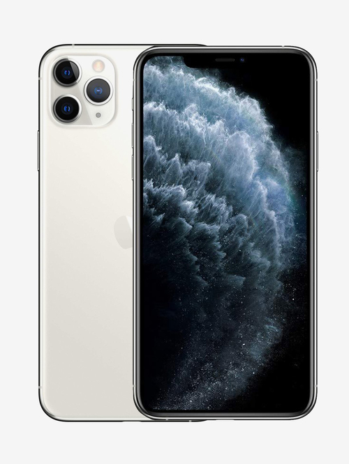 Tata Cliq offers on Mobiles - Apple iPhone 11 Pro Max 64 GB (Silver) (Includes EarPods, Power Adapter)