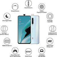 Shopclues offers on Mobiles - Unboxed OPPO Reno2 Z (Sky White, 256 GB) (8 GB RAM) with seller warranty.
