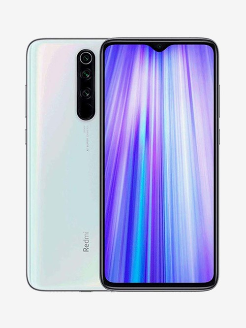 Tata Cliq offers on Mobiles - Xiaomi Redmi Note 8 Pro 128 GB (Halo White) 8 GB RAM, Dual Sim 4G