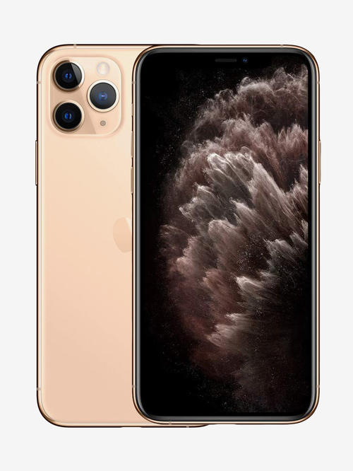Tata Cliq offers on Mobiles - Apple iPhone 11 Pro (64GB) - Gold (Includes EarPods, Power Adapter)