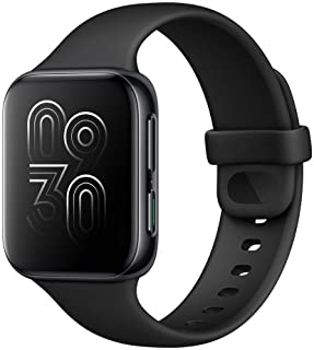 Amazon offers on Mobiles - OPPO Watch 41MM WiFi (Black) Up to 14 Days Battery Back-up with Power Saving Mode, in-Built GPS