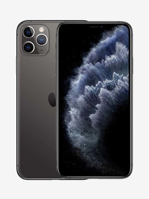 Tata Cliq offers on Mobiles - Apple iPhone 11 Pro Max 64 GB (Space Grey) (Includes EarPods, Power Adapter)