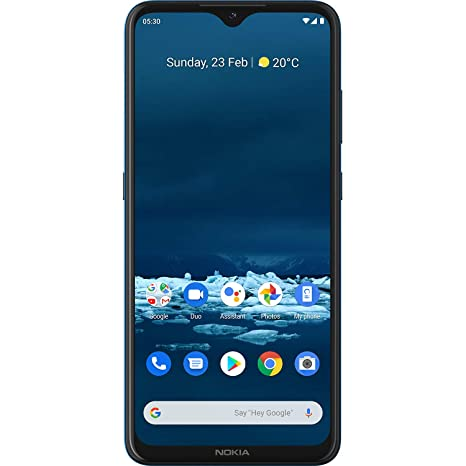 Amazon offers on Mobiles - Nokia 5.3 Android One Smartphone with Quad Camera, 4 GB RAM and 64 GB Storage - Cyan