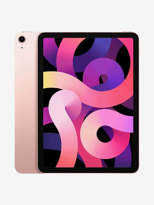 Tata Cliq offers on Mobiles - Apple iPad Air (4th Gen) MYFP2HN/A (10.9 inch, 64 GB, Wi-Fi Only) Rose Gold