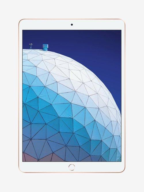 Tata Cliq offers on Mobiles - Apple iPad Air MUUL2HN/A 10.5 inch 64 GB WiFi (Gold)