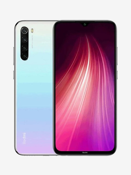 Tata Cliq offers on Mobiles - Xiaomi Redmi Note 8 128 GB (Moonlight White) 6 GB RAM, Dual Sim 4G