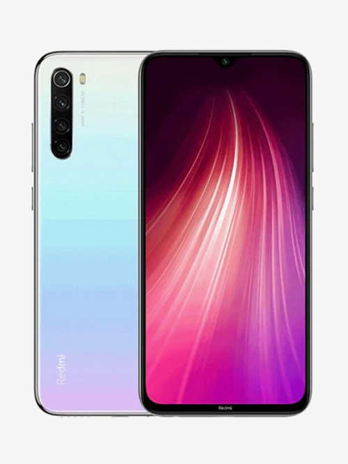 Tata Cliq offers on Mobiles - Xiaomi Redmi Note 8 64 GB (Moonlight White) 4 GB RAM, Dual Sim 4G
