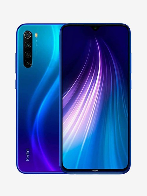Tata Cliq offers on Mobiles - Xiaomi Redmi Note 8 64 GB (Neptune Blue) 4 GB RAM, Dual Sim 4G