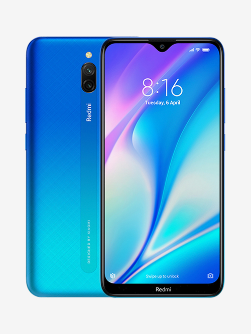Tata Cliq offers on Mobiles - Xiaomi Redmi 8A Dual 32 GB (Sea Blue) 3 GB RAM, Dual SIM 4G