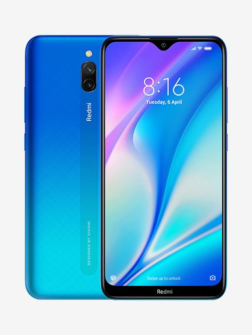 Tata Cliq offers on Mobiles - Xiaomi Redmi 8A Dual 64 GB (Sea Blue) 3 GB RAM, Dual SIM 4G