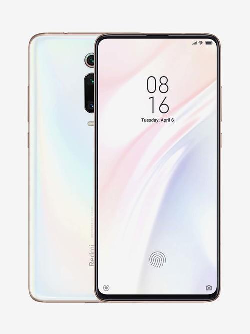 Tata Cliq offers on Mobiles - Xiaomi Redmi K20 Pro 128 GB (Pearl White) 6 GB RAM, Dual SIM 4G