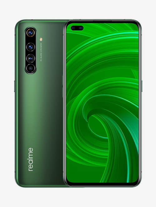 Tata Cliq offers on Mobiles - RealMe X50 Pro 256 GB (Moss Green) 12 GB RAM, Dual SIM 5G