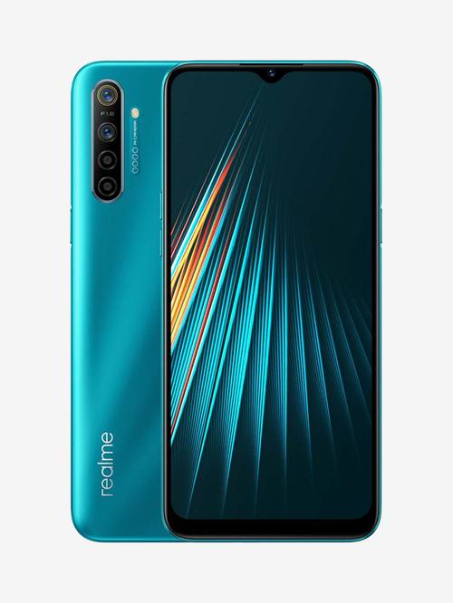 Tata Cliq offers on Mobiles - RealMe 5i 64 GB (Aqua Blue) 4 GB RAM, Dual SIM 4G