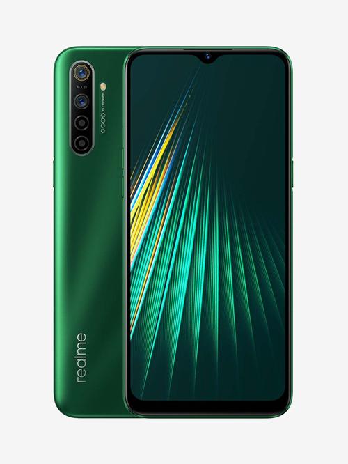Tata Cliq offers on Mobiles - RealMe 5i 64 GB (Forest Green) 4 GB RAM, Dual SIM 4G