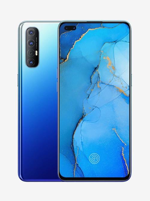Tata Cliq offers on Mobiles - OPPO Reno 3 Pro 128 GB (Auroral Blue) 8 GB RAM, Dual SIM 4G