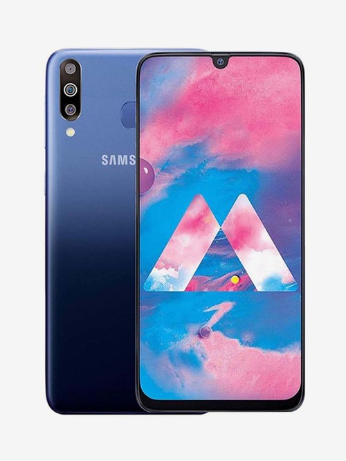 Tata Cliq offers on Mobiles - Samsung Galaxy M30 64 GB (Gradation Blue) 4 GB RAM, Dual SIM 4G