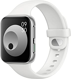 Amazon offers on Mobiles - Oppo Watch 41MM WiFi (Silver Mist)