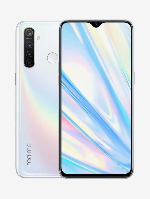 Tata Cliq offers on Mobiles - RealMe 5 Pro 128 GB (Chroma White) 8 GB RAM, Dual SIM 4G