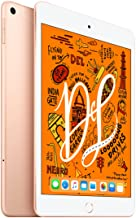 Amazon offers on Mobiles - 2019 Apple iPad mini with A12 Bionic chip (7.9-inch/20.1 cm, Wi‑Fi + Cellular, 256GB) - Gold (5th Generation)