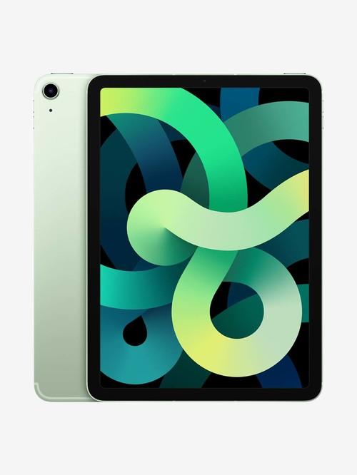 Tata Cliq offers on Mobiles - Apple iPad Air (4th Gen) MYH12HN/A (10.9 inch, 64 GB, Wi-Fi + Cellular) Green