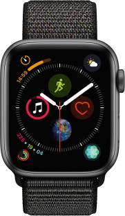Flipkart offers on Mobiles - Apple Watch Series 4 GPS + Cellular 44 mm Space Grey Aluminium Case with Black Sport Loop Black Strap, Regular