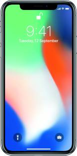 Flipkart offers on Mobiles - Apple iPhone X (Silver, 256 GB)