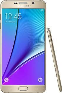 Flipkart offers on Mobiles - Samsung Galaxy Note 5 (Gold, 64 GB) 4 GB RAM