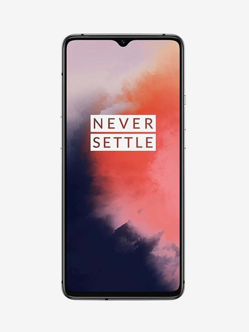 Tata Cliq offers on Mobiles - OnePlus 7T 128 GB (Frosted Silver) 8 GB RAM, Dual SIM 4G