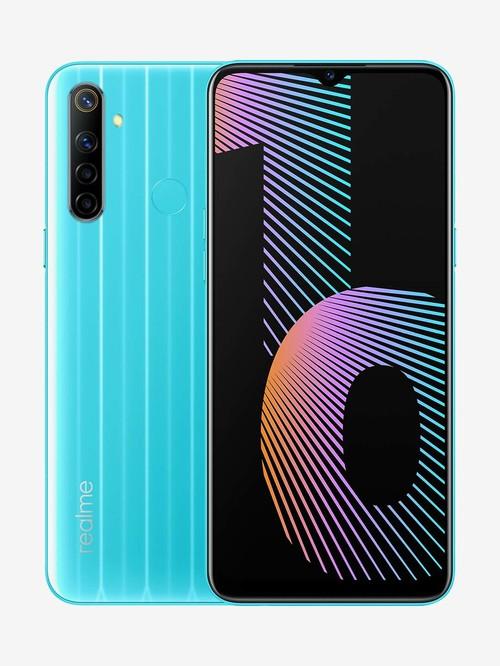 Tata Cliq offers on Mobiles - Realme Narzo 10 128 GB (That Blue) 4 GB RAM, Dual SIM 4G