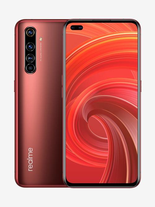 Tata Cliq offers on Mobiles - RealMe X50 Pro 128 GB (Rust Red) 8 GB RAM, Dual SIM 5G