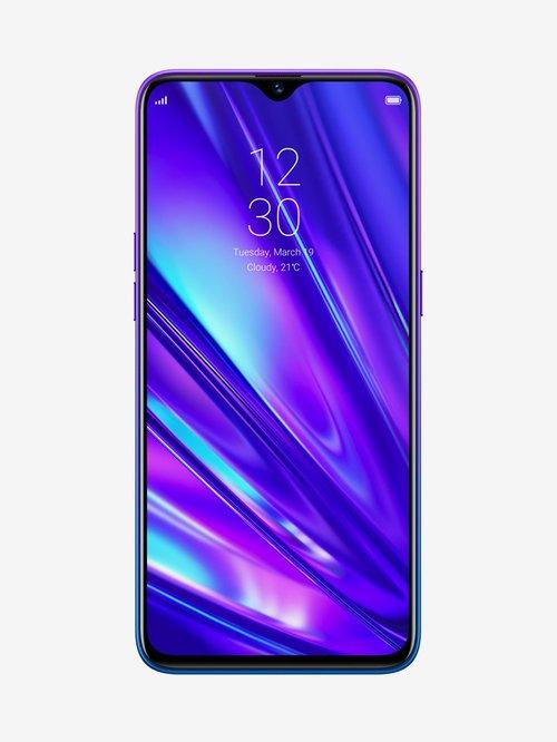 Tata Cliq offers on Mobiles - RealMe 5 Pro 128 GB (Sparkling Blue) 8 GB RAM Dual SIM 4G