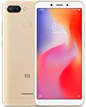 Amazon offers on Mobiles - Xiaomi Redmi 6 (Gold, 3GB RAM, 64GB Storage)