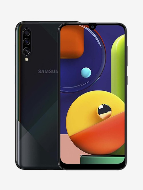 Tata Cliq offers on Mobiles - Samsung Galaxy A70s 128 GB (Prism Crush Black) 8 GB RAM Dual SIM, 4G