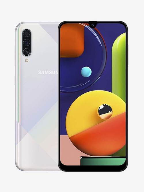 Tata Cliq offers on Mobiles - Samsung Galaxy A70s 128 GB (Prism Crush White) 8 GB RAM Dual SIM, 4G