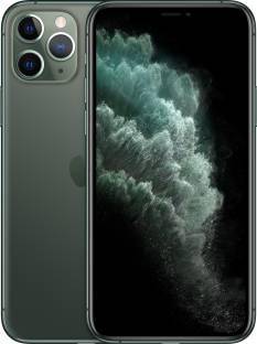 Flipkart offers on Mobiles - Apple iPhone 11 Pro (Midnight Green, 256 GB)